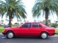 Garnet Red Metallic 1992 Mercedes-Benz 190 Class 190E 2.3