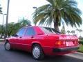 1992 190 Class 190E 2.3 Garnet Red Metallic