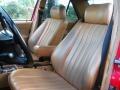 1992 190 Class 190E 2.3 Beige Interior