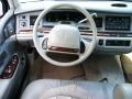 1995 Lincoln Town Car Grey Interior Steering Wheel Photo