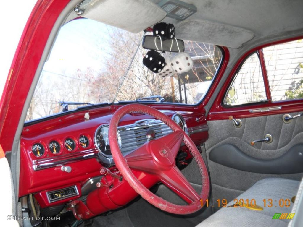 red gray interior 1948 chevrolet fleetmaster sport coupe photo 40270338. Black Bedroom Furniture Sets. Home Design Ideas