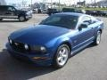 2007 Vista Blue Metallic Ford Mustang GT Premium Coupe  photo #2