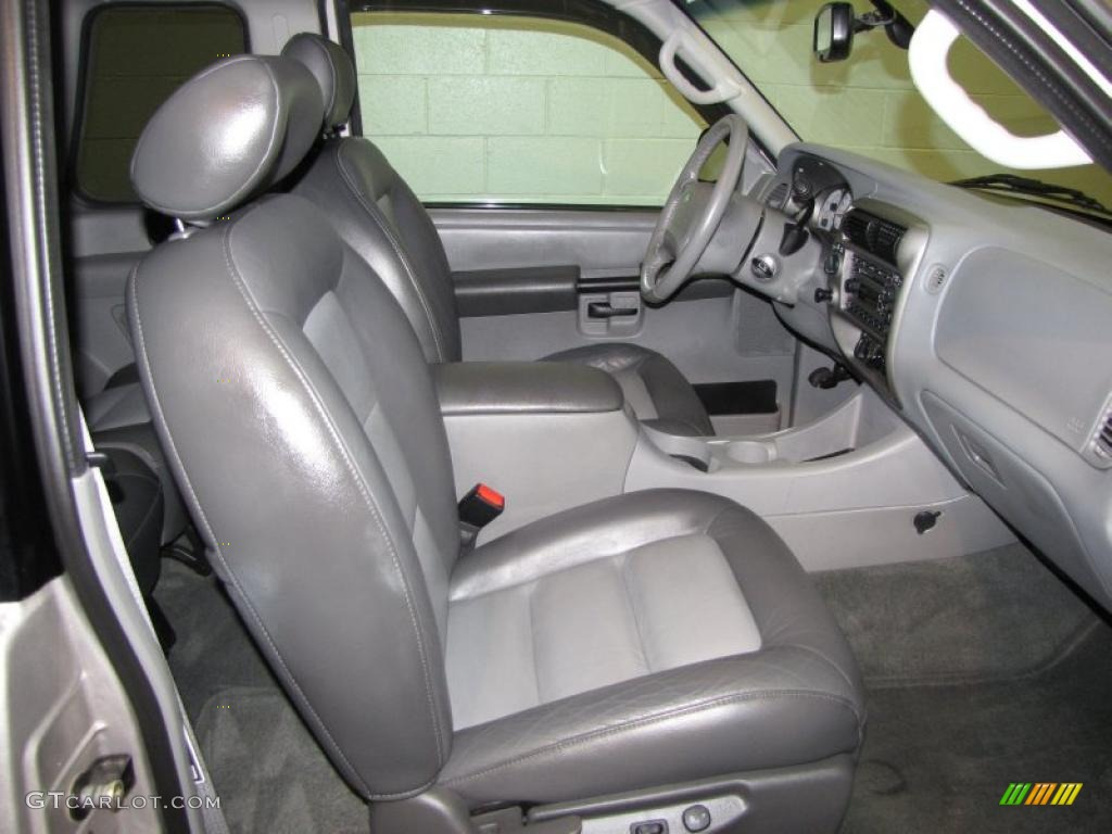 Superior Graphite Grey Interior 2003 Ford Explorer Sport XLT 4x4 Photo #40285280
