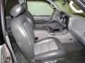 Graphite Grey 2003 Ford Explorer Sport XLT 4x4 Interior Color