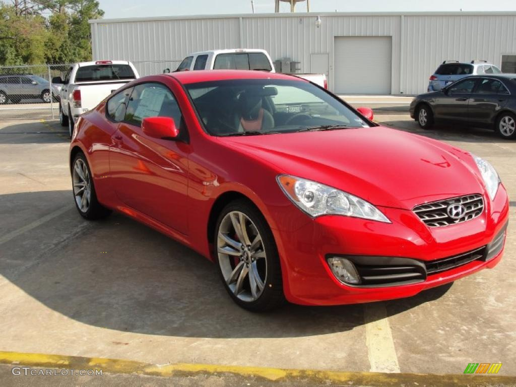 2011 tsukuba red hyundai genesis coupe 3 8 r spec. Black Bedroom Furniture Sets. Home Design Ideas