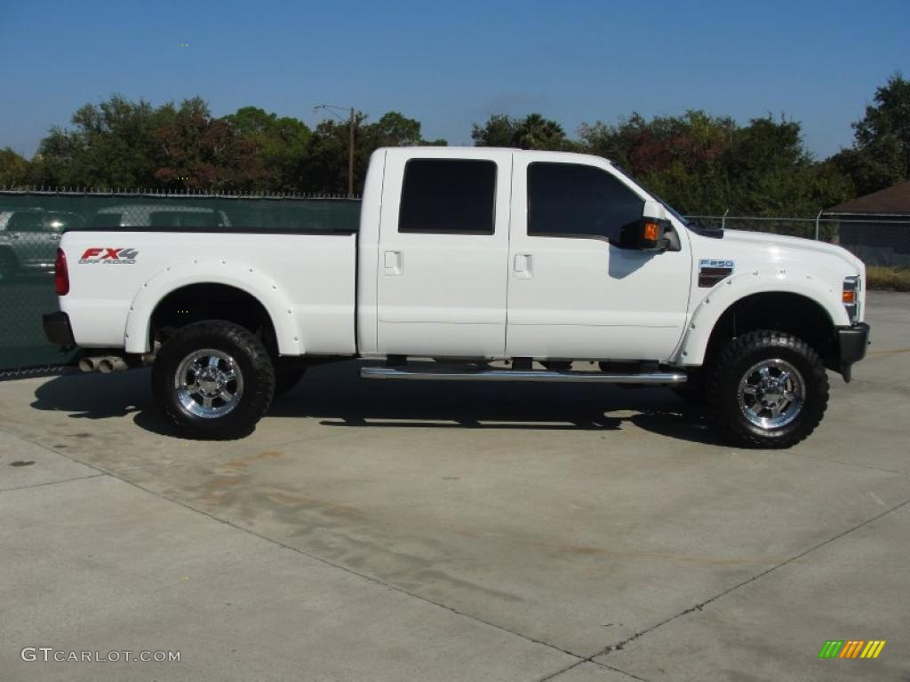 2000 Ford F250 Lariat Supercab Super Duty News >> Oxford White 2009 Ford F250 Super Duty FX4 Crew Cab 4x4 Exterior Photo #40296163 | GTCarLot.com