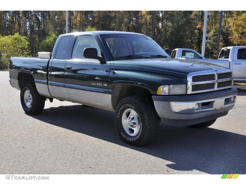 forest green pearl 2001 dodge ram 1500 slt club cab 4x4 exterior photo 40303280. Black Bedroom Furniture Sets. Home Design Ideas