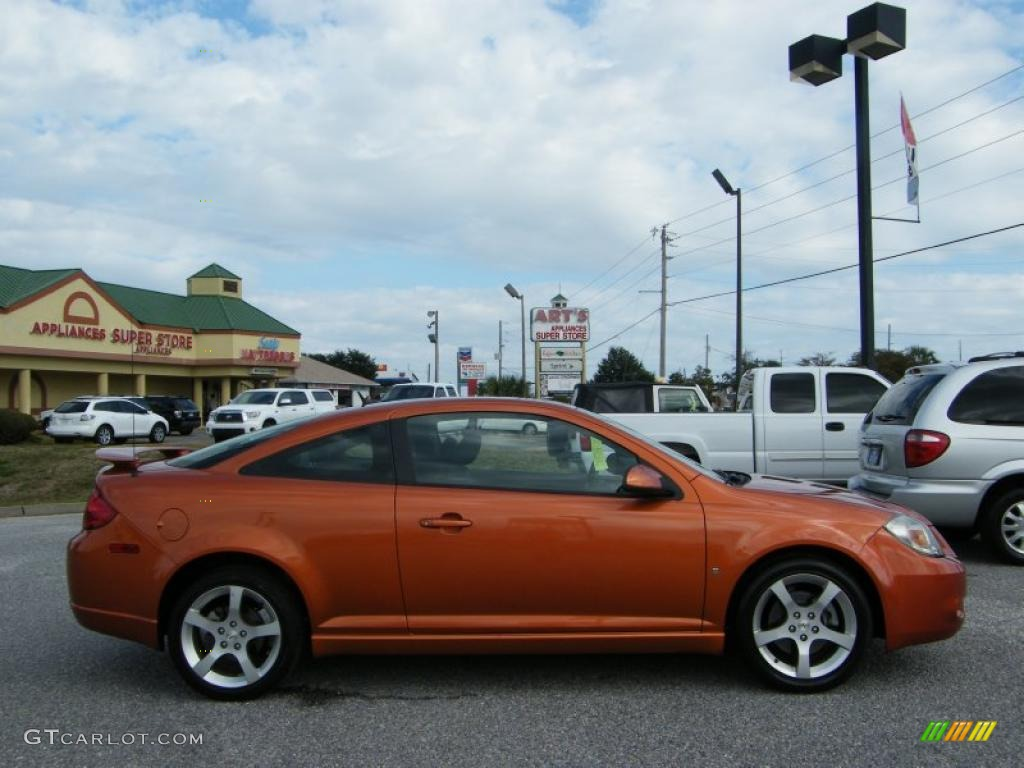 Fusion Orange Metallic 2007 Pontiac G5 Gt Exterior Photo