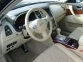 2010 Infiniti FX Wheat Interior Prime Interior Photo