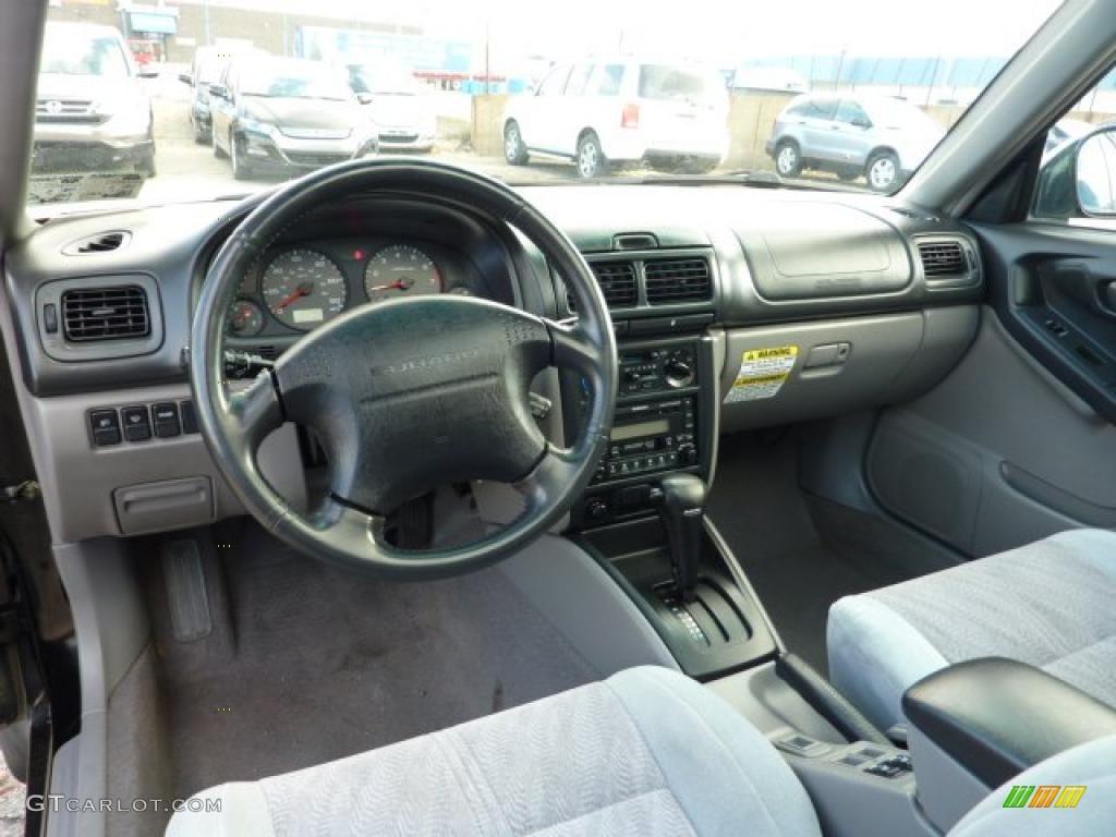 2001 Subaru Forester 2 5 S Gray Dashboard Photo 40320624