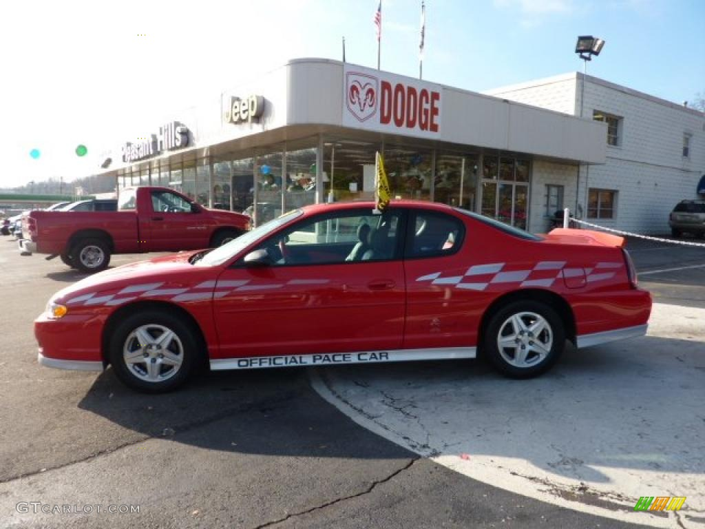 Torch Red Chevrolet Monte Carlo Limited Edition Pace Car Ss
