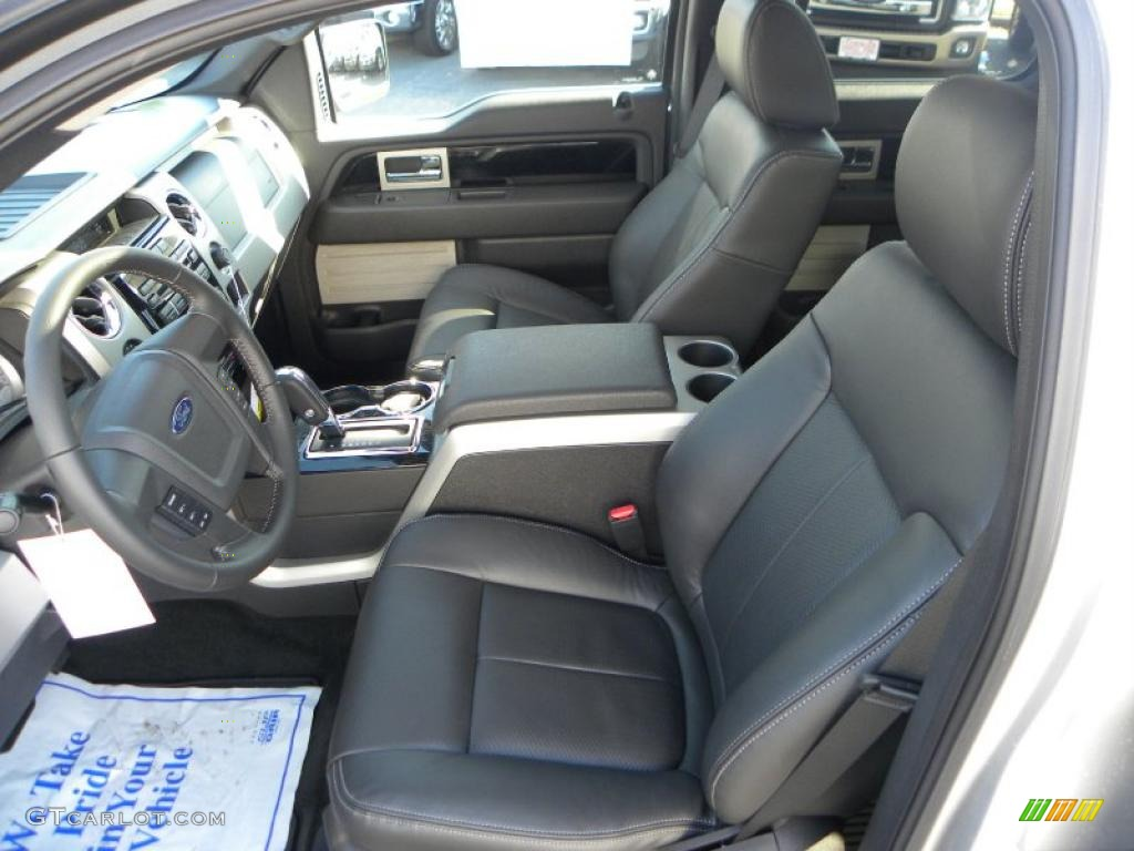 Black Interior 2010 Ford F150 Fx4 Supercrew 4x4 Photo 40323116