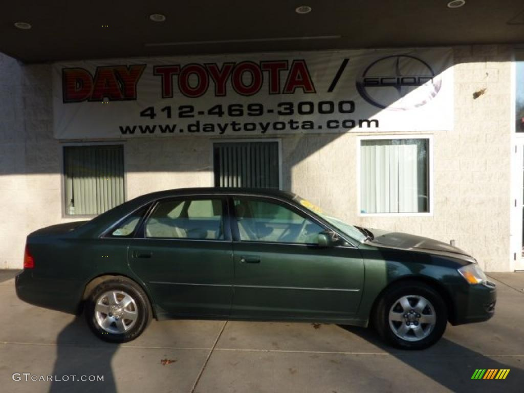 2001 woodland green pearl toyota avalon xl 40302211 for Woodland motors used cars