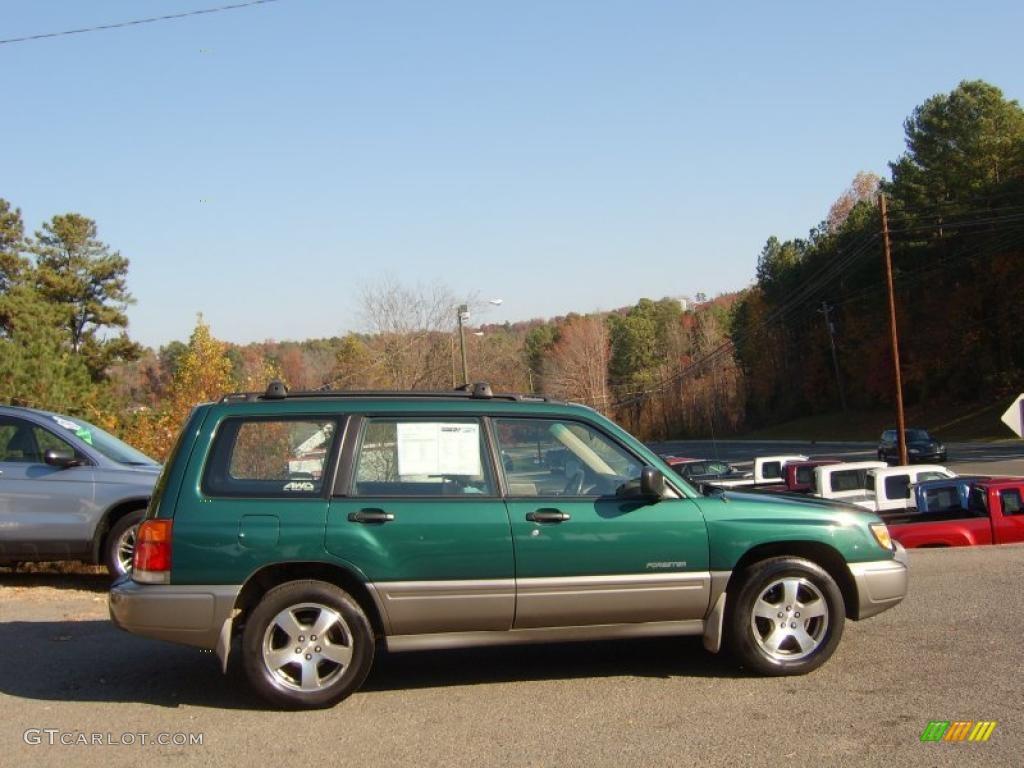 green metallic 1998 subaru forester s exterior photo #40331630