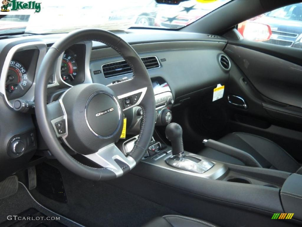 black interior 2011 chevrolet camaro ss rs coupe photo. Black Bedroom Furniture Sets. Home Design Ideas