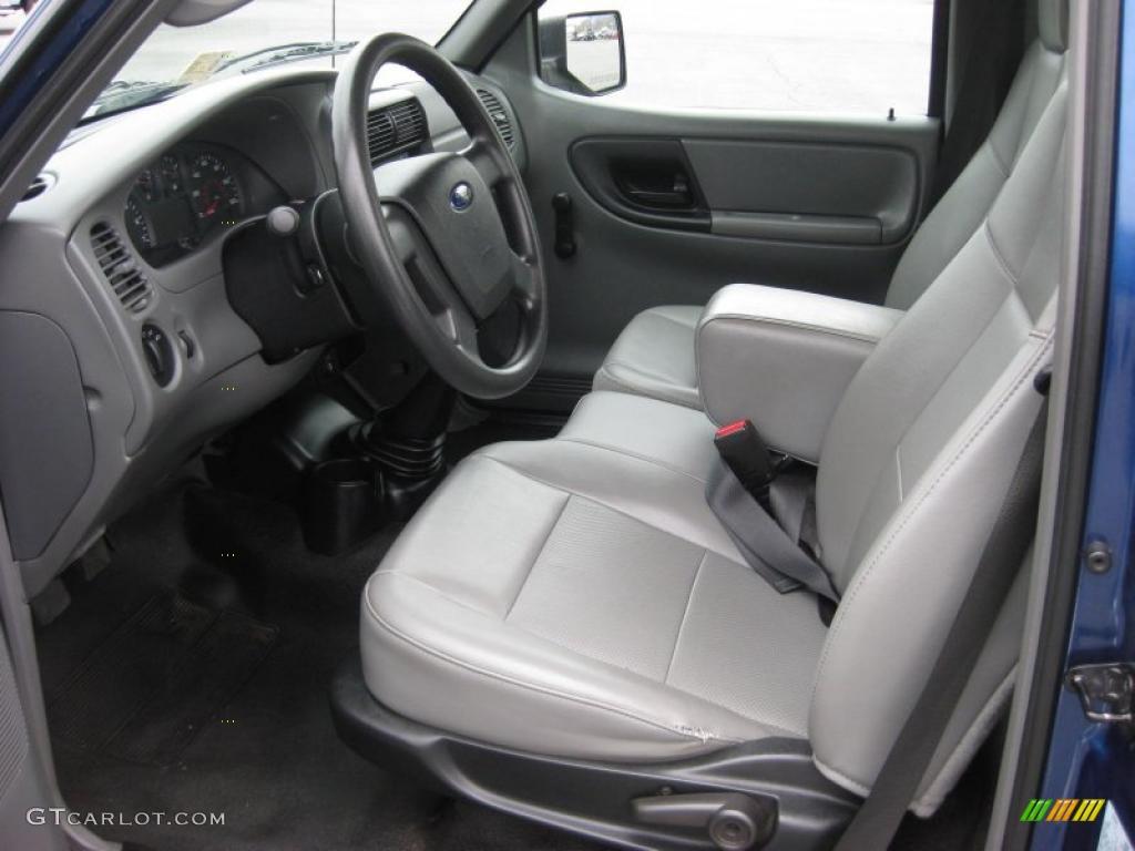 ford ranger xl regular cab  interior photo  gtcarlotcom