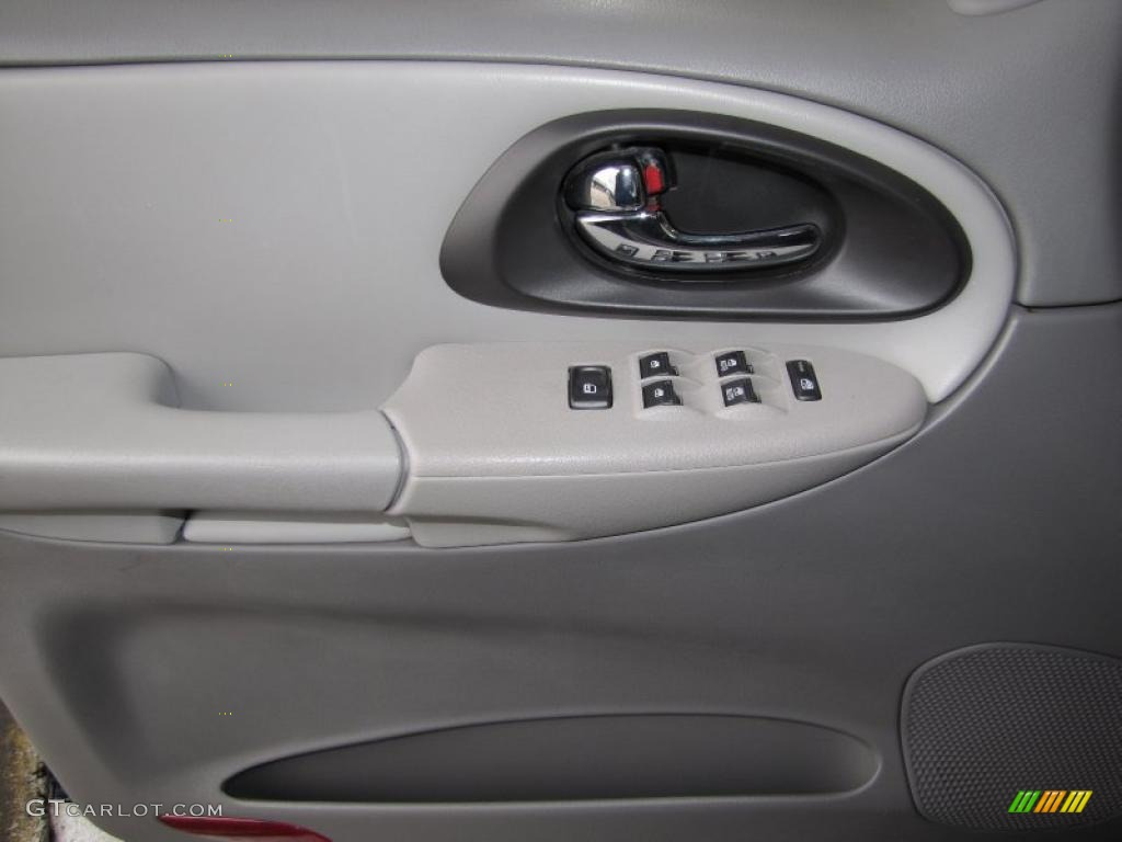 2007 Chevrolet Trailblazer Lt Light Gray Door Panel Photo 40345238