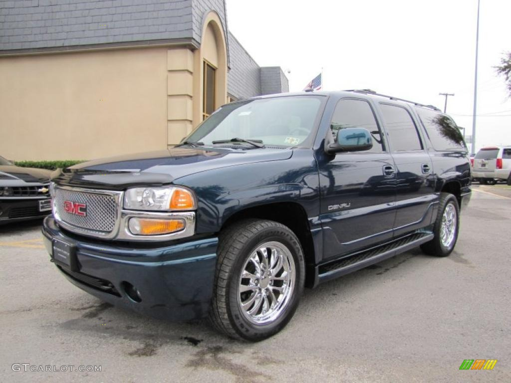deep blue metallic 2005 gmc yukon xl denali awd exterior. Black Bedroom Furniture Sets. Home Design Ideas