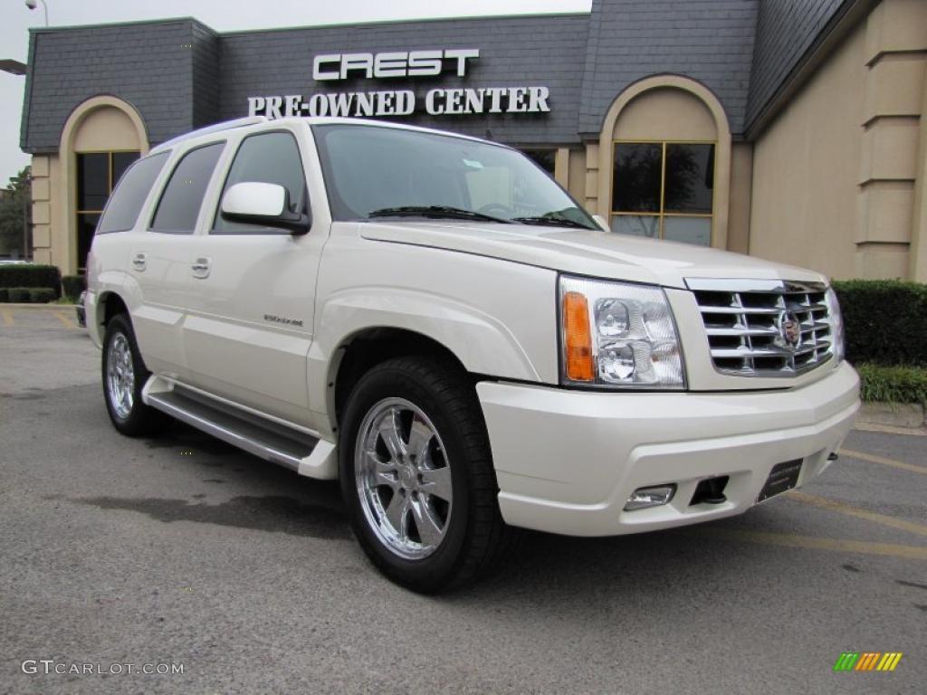 2006 White Diamond Cadillac Escalade Awd 40343576 Car Color Galleries
