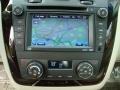 2009 Cadillac DTS Light Linen/Cocoa Interior Navigation Photo