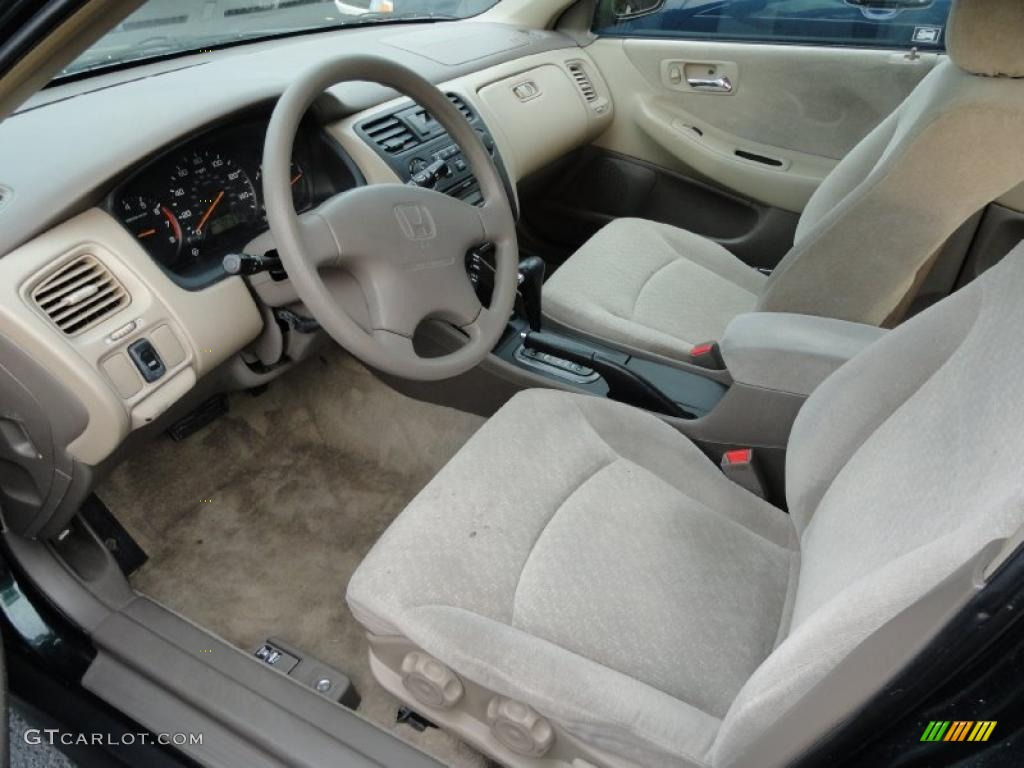Ivory Interior 2001 Honda Accord Lx Sedan Photo 40347818