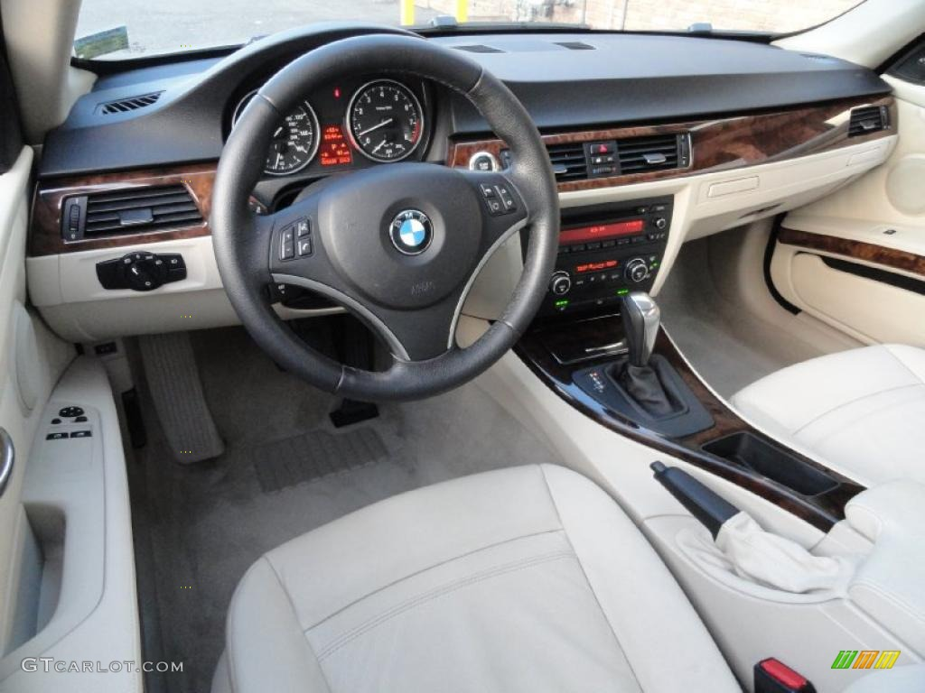 Cream Beige Interior 2007 BMW 3 Series 328xi Coupe Photo #40347950 Nice Design