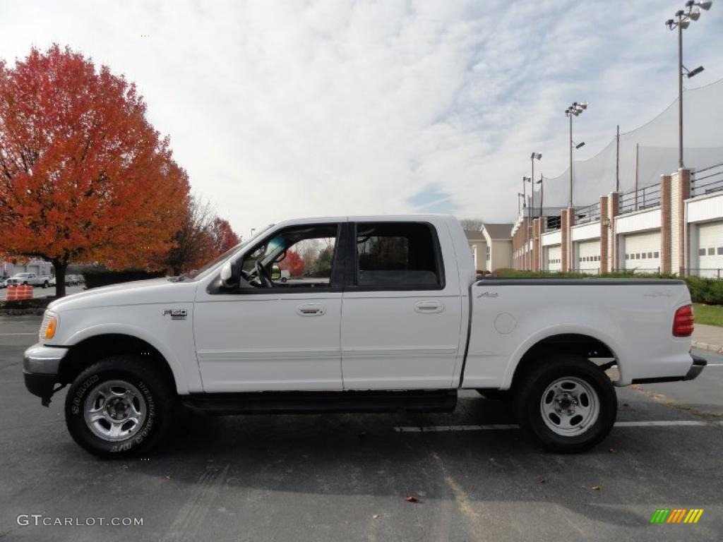oxford white 2001 ford f150 xlt supercrew 4x4 exterior photo 40349214. Cars Review. Best American Auto & Cars Review