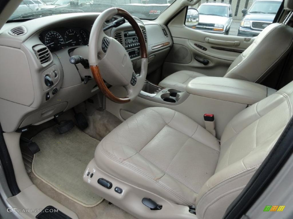 medium parchment interior 2000 lincoln navigator 4x4 photo. Black Bedroom Furniture Sets. Home Design Ideas