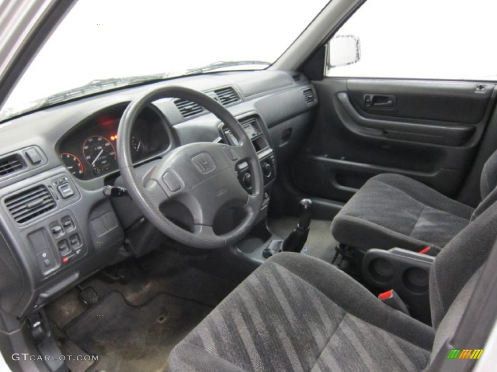 Charcoal interior 1999 honda cr v lx 4wd photo 40357781 for Interior honda crv
