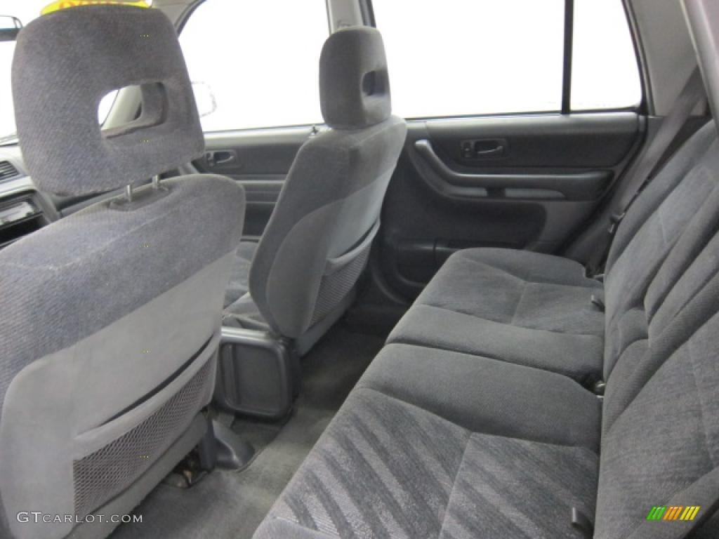 Charcoal Interior 1999 Honda Cr V Lx 4wd Photo 40357805 Gtcarlot Com