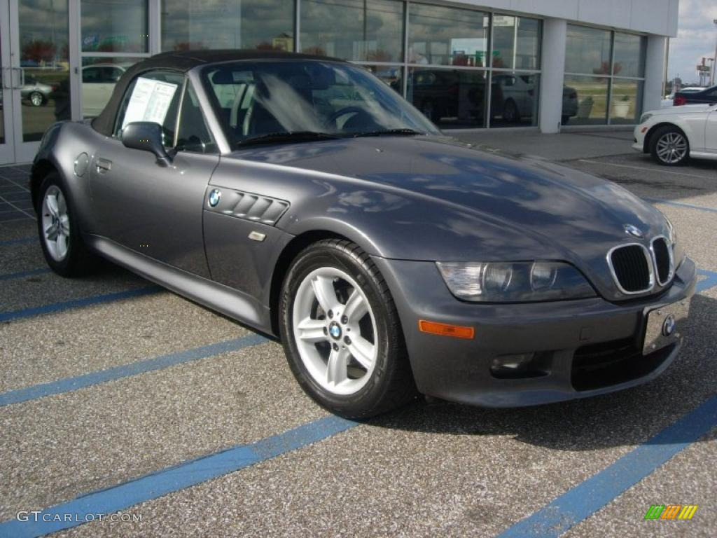 Steel Grey Metallic 2000 Bmw Z3 2 3 Roadster Exterior Photo 40360025 Gtcarlot Com