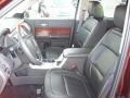Charcoal Black Interior Photo for 2010 Ford Flex #40371357