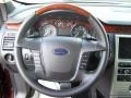 Charcoal Black Steering Wheel Photo for 2010 Ford Flex #40371649