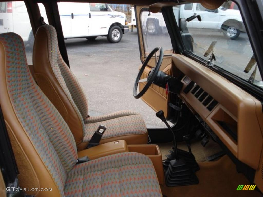 Spice Color Paint For  Jeep Wrangler Interior