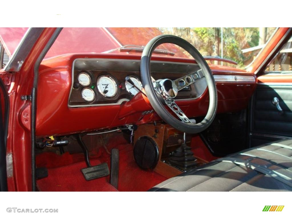1965 Chevrolet El Camino Standard El Camino Model Interior
