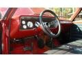 1965 El Camino  Red/Black Interior