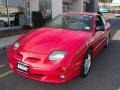 Bright Red 2002 Pontiac Sunfire GT Coupe