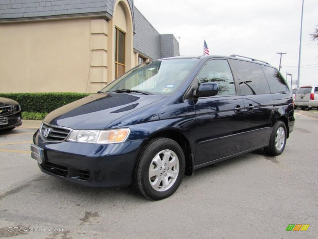 2003 midnight blue pearl honda odyssey ex l 40353511 photo 3 car color galleries. Black Bedroom Furniture Sets. Home Design Ideas
