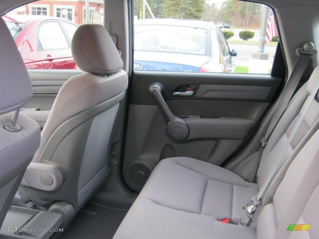 2008 CR-V LX 4WD - Royal Blue Pearl / Gray photo #20