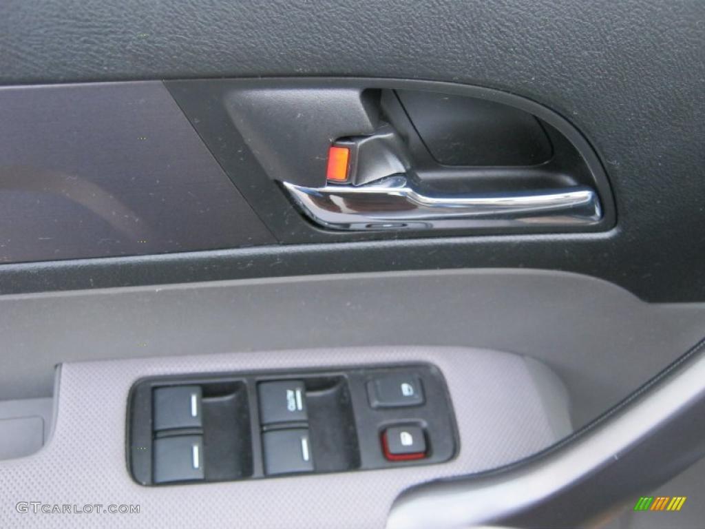2008 CR-V LX 4WD - Royal Blue Pearl / Gray photo #22
