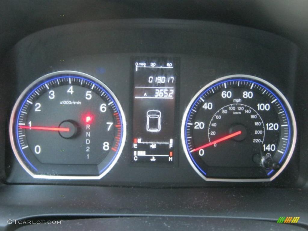 2008 CR-V LX 4WD - Royal Blue Pearl / Gray photo #25