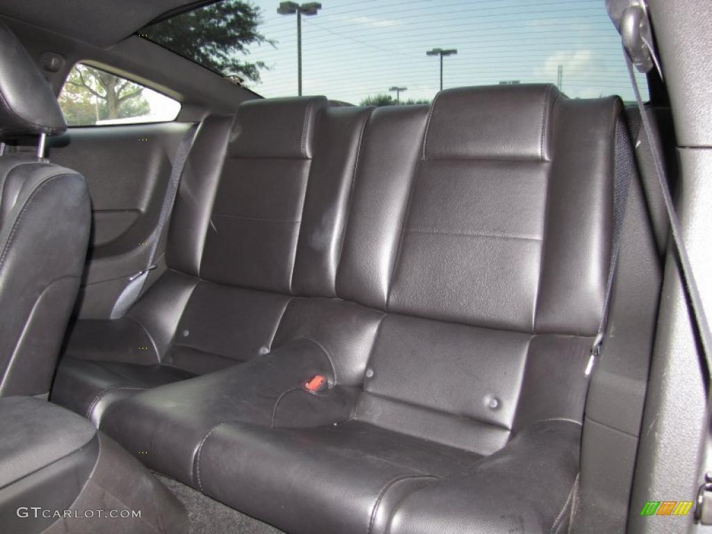 2007 Mustang V6 Premium Coupe - Tungsten Grey Metallic / Dark Charcoal photo #11