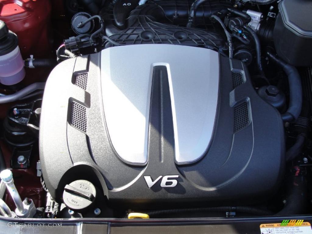 2011 hyundai santa fe engine