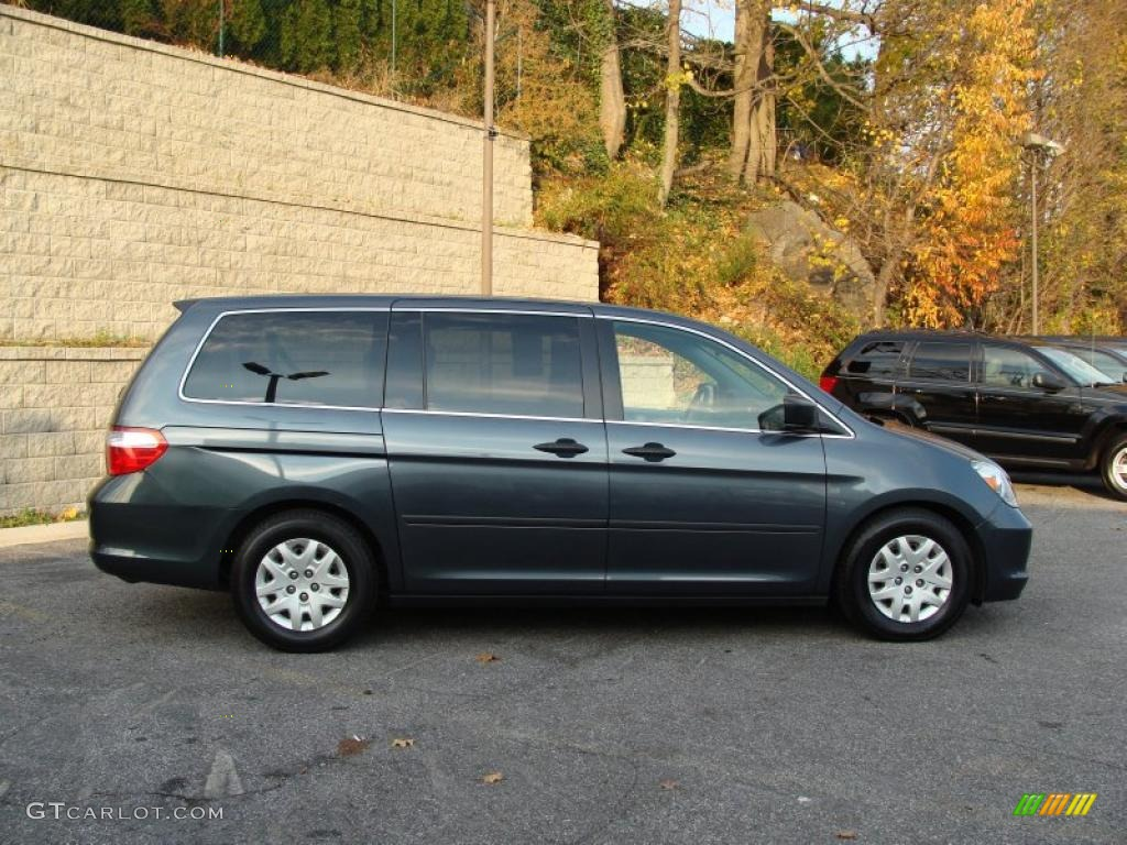 midnight blue pearl 2005 honda odyssey lx exterior photo. Black Bedroom Furniture Sets. Home Design Ideas