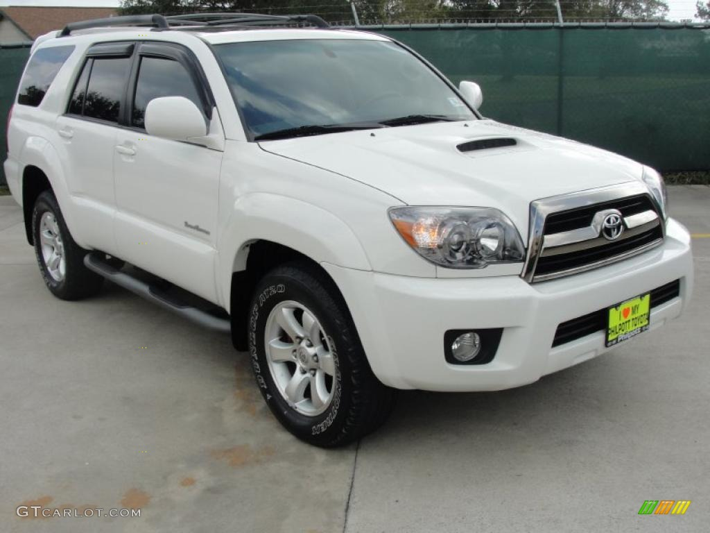 2007 Natural White Toyota 4runner Sport Edition 40353296