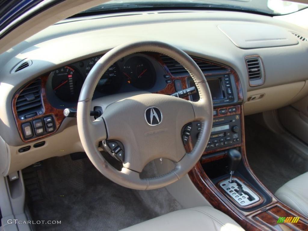 Parchment Interior 2002 Acura TL 3.2 Photo #40405637 | GTCarLot.com