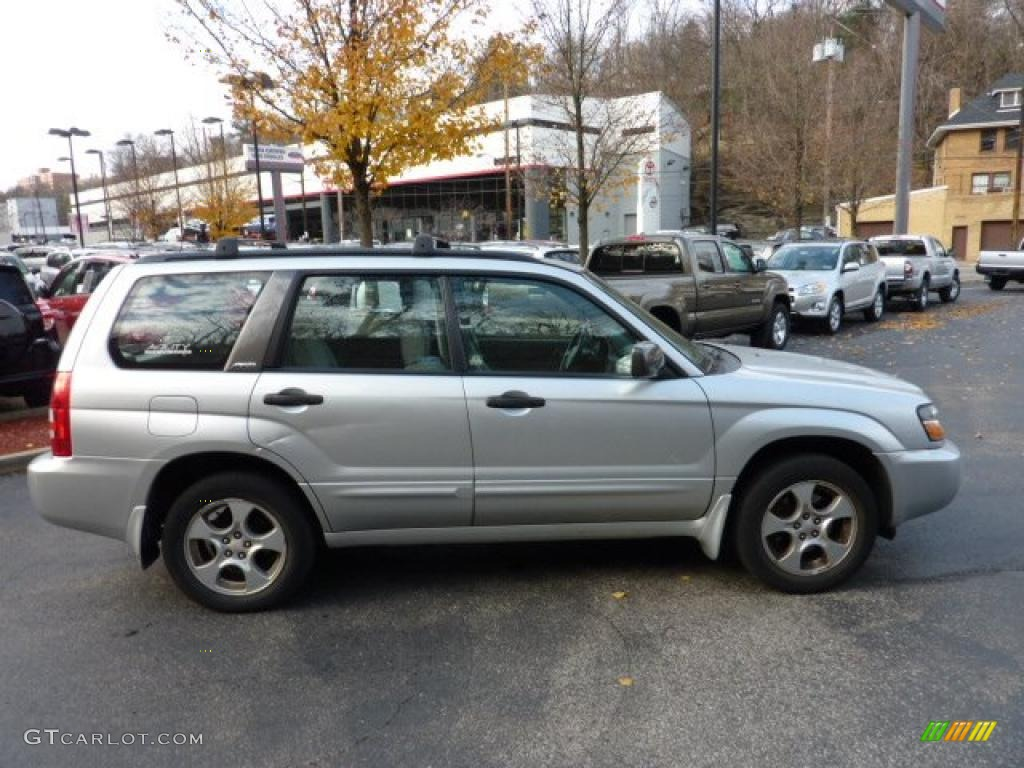 2003 forester 2 5 xs platinum silver metallic gray photo 5
