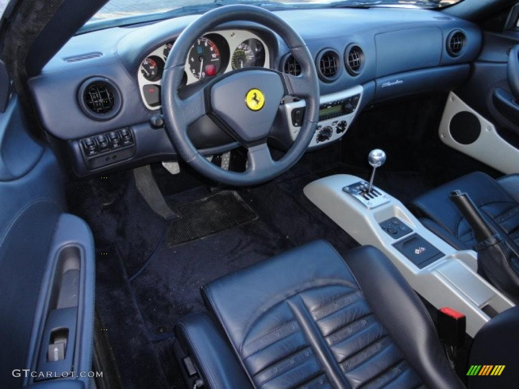 dark blue interior 1999 ferrari 360 modena photo 40415500. Black Bedroom Furniture Sets. Home Design Ideas