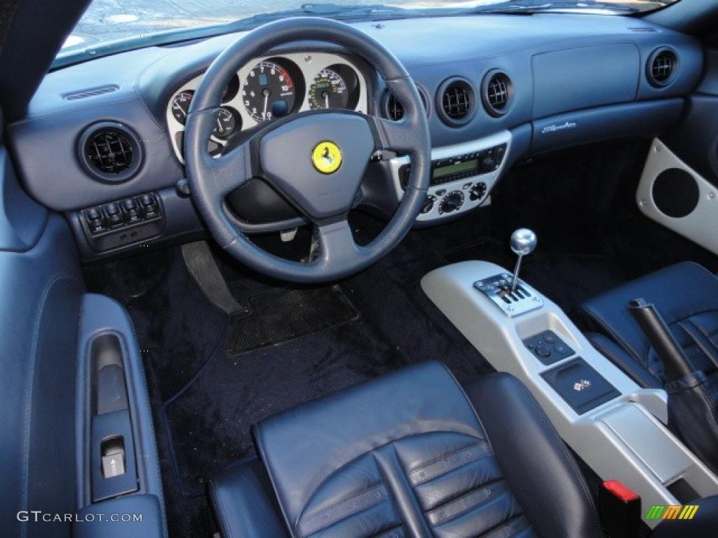 F360 MODENA (MANUAL) – A MAGICAL EXPERIENCE – KORN CARS |Ferrari 360 Modena Interior