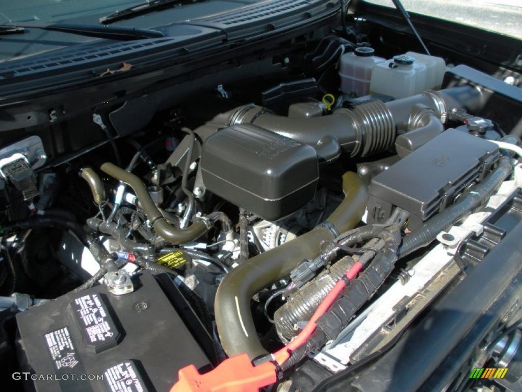 2010 ford f150 svt raptor supercab 4x4 5 4 liter flex fuel for Motor ford f150 v8